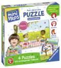 Ravensburger ministeps Spielzeug Mein allererstes Puzzle Jahreszeiten 04559