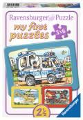 3 x 6 Teile Ravensburger Kinder Rahmen Puzzle my first puzzles Feuerwehr, Polizei 06115