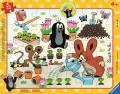 32 Teile Ravensburger Kinder Rahmen Puzzle Der Maulwurf Der kleine Maulwurf hat Spaß 06153
