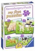 2, 4, 6, 8 Teile Ravensburger Kinder Puzzle my first puzzles Unsere Lieblingstiere 07077