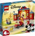 LEGO® Mickey and Friends Mickys Feuerwehrstation und Feuerwehrauto 144 Teile 10776