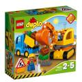 LEGO® DUPLO® Baustelle Bagger & Lastwagen 26 Teile 10812
