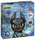 72 Teile Ravensburger 3D Puzzle Ball Dragons 3 Ohnezahn mit Ohren 11145