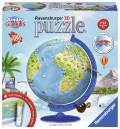 180 Teile Ravensburger 3D Puzzle Ball Kindererde deutsch 11160