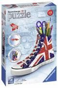 108 Teile Ravensburger 3D Puzzle Sneaker Union Jack 11222