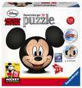 108 Teile Ravensburger 3D Puzzle Ball Disney Mickey Maus 11761