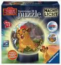 72 Teile Ravensburger 3D Puzzle Ball Nachtlicht Disney König der Löwen 11815