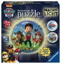 72 Teile Ravensburger 3D Puzzle Ball Nachtlicht Paw Patrol 11842