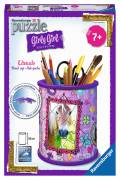 54 Teile Ravensburger 3D Puzzle Girly Girl Edition Utensilo Pferde 12075