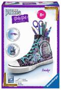 108 Teile Ravensburger 3D Puzzle Girly Girl Edition Sneaker Animal Trend 12085