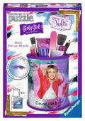 54 Teile Ravensburger 3D Puzzle Girly Girl Edition Utensilo Disney Violetta 12093