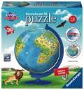 180 Teile Ravensburger 3D Puzzle Ball Kindererde deutsch 12337