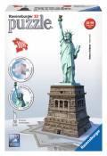 108 Teile Ravensburger 3D Puzzle Bauwerk Freiheitsstatue 12584