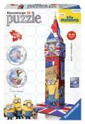 216 Teile Ravensburger 3D Puzzle Bauwerk Big Ben Ich Einfach unverbesserlich 12589