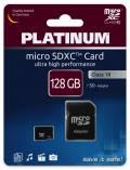 Platinum Micro SDXC Karte 128GB Speicherkarte UHS-I Class 10