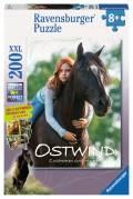 200 Teile Ravensburger Kinder Puzzle XXL Ostwind Mika & Ostwind 12815