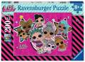 200 Teile Ravensburger Kinder Puzzle XXL L.O.L. Surprice! Girlpower 12884