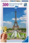 300 Teile Ravensburger Puzzle Gold Edition Blick auf den Eiffelturm 13643