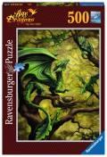 500 Teile Ravensburger Puzzle Anne Stokes Walddrache 14789