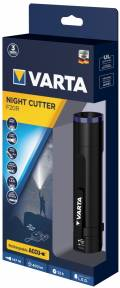 Varta Taschenlampe LED Night Cutter F20R Akku 18900