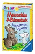 32 Blatt Ravensburger Kinder Kartenspiel Erster Kartenspaß M&B Bewegungsquartett 20325
