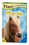 32 Blatt Ravensburger Kinder Kartenspiel Tier Quartette Pferde 20422