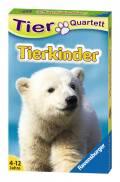 32 Blatt Ravensburger Kinder Kartenspiel Tier Quartette Tierkinder 20423