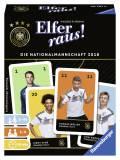 Ravensburger Kartenspiel Kartenlegespiel Elfer raus! Die Nationalmannschaft 2018 20791