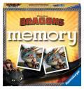 72 Karten Ravensburger Kinderspiel Legekartenspiel Dragons memory 21118