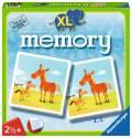 24 Karten Ravensburger Kinderspiel Legekartenspiel Mein erstes XL memory Tiere 21122
