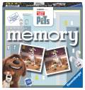 72 Karten Ravensburger Kinderspiel Legekartenspiel The Secret Life of Pets memory 21225
