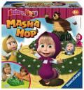 Ravensburger Kinderspiel 3D-Wettlaufspiel Mascha und der Bär Masha Hop 21261