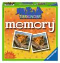 72 Karten Ravensburger Kinderspiel Legekartenspiel Tierkinder memory 21275