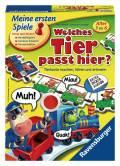 Ravensburger Meine ersten Spiele Gedächtnis- und Suchspiel Welches Tier passt hier? 21423