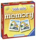 24 Karten Ravensburger Kinderspiel Legekartenspiel Mein erstes memory Fahrzeuge 21437