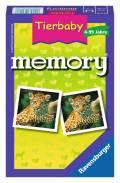 48 Karten Ravensburger Mitbringspiel Legekartenspiel Tierbaby memory 23013