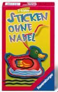 Ravensburger Mitbringspiel Geschicklichkeitsspiel Sticken ohne Nadel 23099