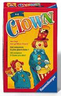 Ravensburger Mitbringspiel Würfel- und Legespiel Clown 23115