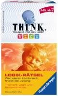 Ravensburger Mitbringspiel Logikspiel Think Kids Logik-Rätsel 23294