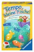 Ravensburger Mitbringspiel Farbwürfelspiel Tempo, kleine Fische! 23334