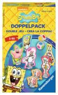 Ravensburger Mitbringspiel Farbwürfelspiel SpongeBob Schwammkopf Doppelpack 23419