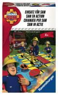Ravensburger Mitbringspiel Wettlaufspiel Feuerwehrmann Sam Einsatz für Sam 23430