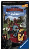 Ravensburger Mitbringspiel Wettlaufspiel Dragons Das große Drachenrennen 23432