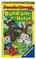 Ravensburger Mitbringspiel Sammel- und Aktionsspiel Mauseschlau Rund um die Natur 23433
