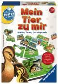 Ravensburger Spielend Erstes Lernen Lernspiel für Basiskenntnisse Mein Tier zu mir 24731