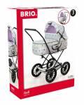 Brio Spielzeug Rollenspiel Puppenwagen Gull grau mit Punkten 24891159