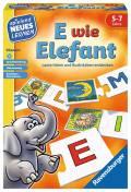 Ravensburger Spielend Neues Lernen Buchstabenspiel E wie Elefant 24951