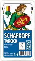 36 Blatt Ravensburger FX Schmid Spielkarten Schafkopf Tarock Bayerisches Bild Etui 27042