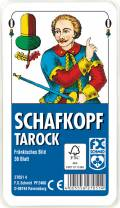 36 Blatt Ravensburger FX Schmid Spielkarten Schafkopf Tarock Fränkisches Bild Etui 27051
