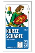 24 Blatt Ravensburger FX Schmid Spielkarten kurze Scharfe Bayerisches Bild Etui 27052